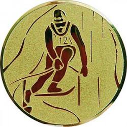 Emblém lyže sjezd