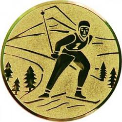 Emblém lyže běh