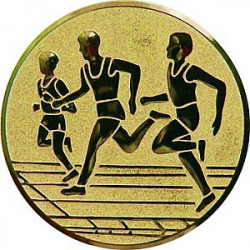 Emblém atletika běh